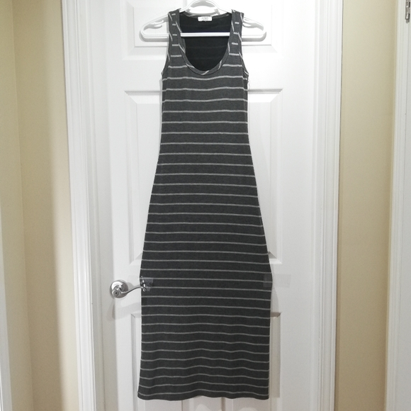 Jersey by Jacob striped Maxi dress